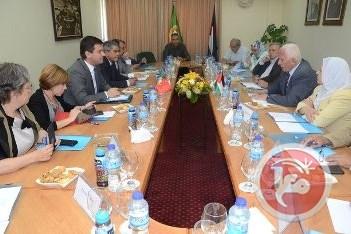 Portuguese Parliamentarians in Palestine