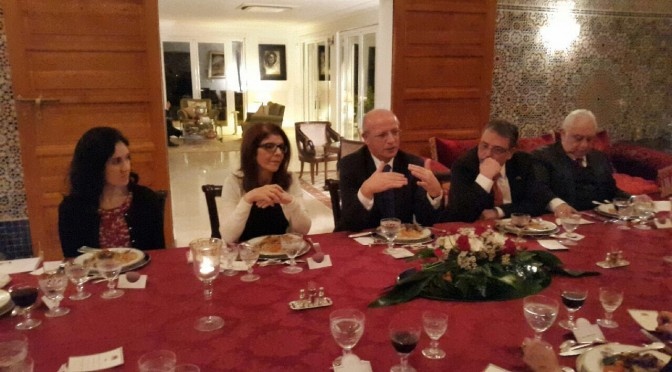 Arab Diplomats Meet Portuguese Minster of Foreign Affairs