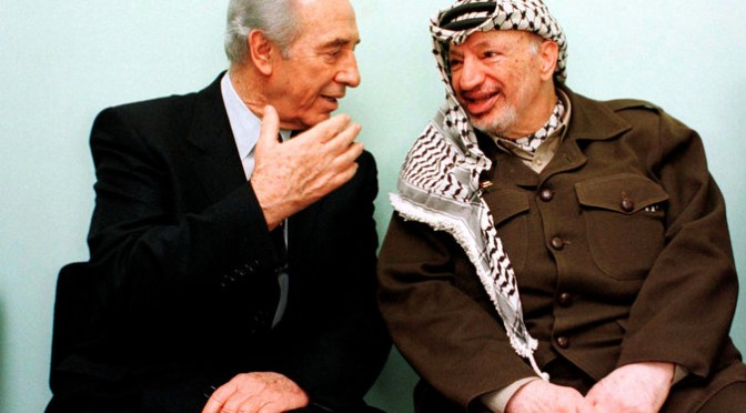 Shimon Peres: The Peacemaker Who Wasn't