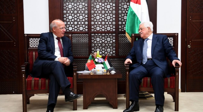 Portuguese Foreign Minister Prof. Augusto Santos Silva visits Palestine