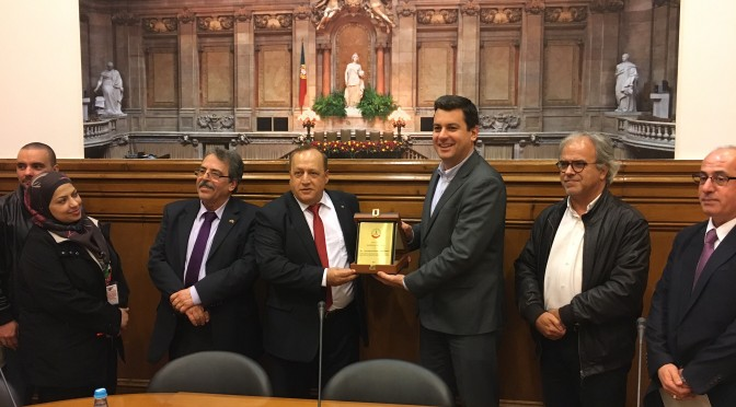 Palestinian Bar Association Received in the Parliament