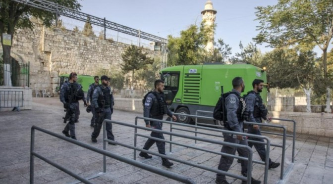Tension in East Jerusalem- Article by Narciso Machado