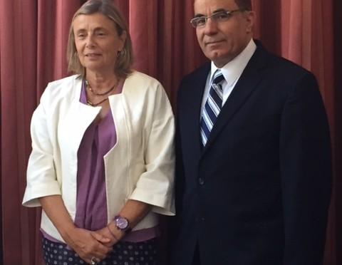 Ambassador Visits the University of Évora