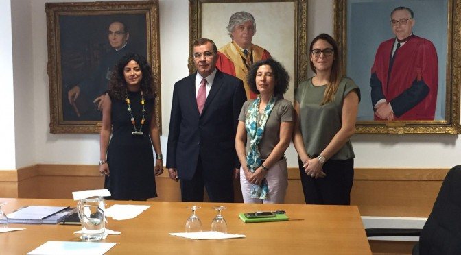Ambassador visits University of Algarve