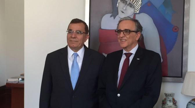 Ambassador visits the University of Porto