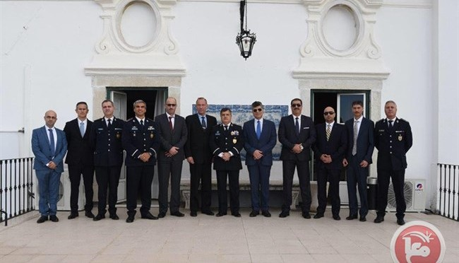 Chief of the Palestinian Civil Police visits Portugal