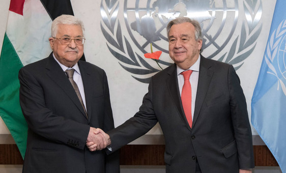 'Historic' moment: Palestine takes reins of UN coalition of developing countries