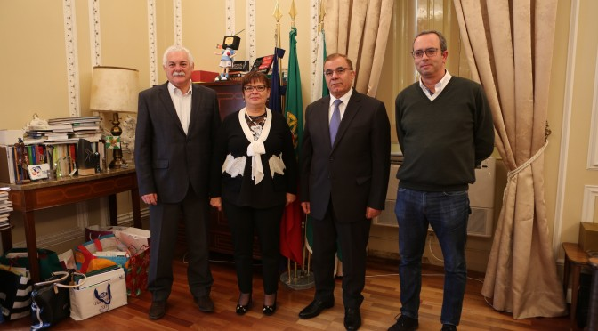 Municipality of Portimão receives the Diplomatic Mission of Palestine