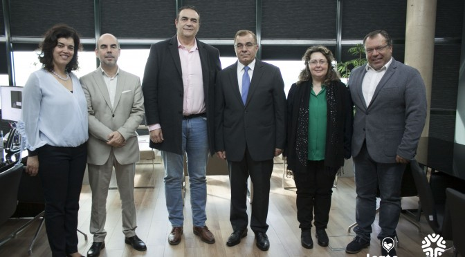 The Municipality of Lagoa received the Diplomatic Mission of Palestine